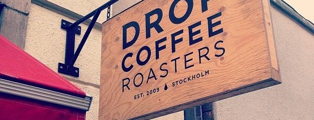Drop Coffee is one of Don't do Starbucks et al.!.
