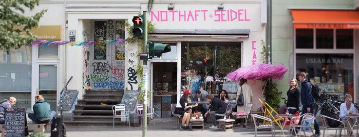 Nothaft + Seidel is one of Berlin Best: Cafes, breakfast, brunch.
