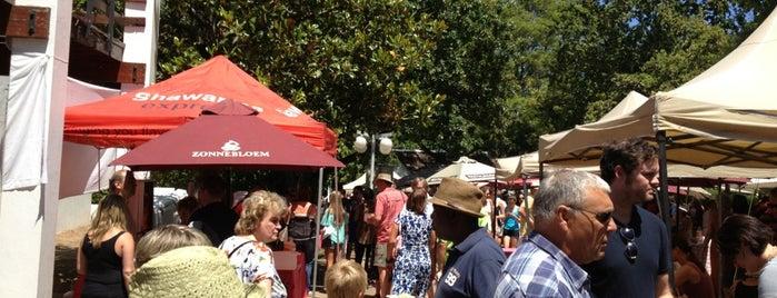 Stellenbosch Fresh Goods Market is one of South Africa.