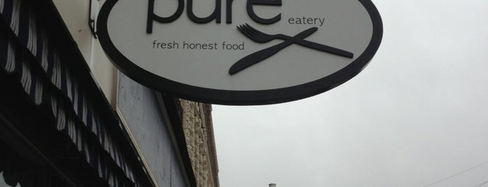 Pure Eatery is one of The 15 Best Places with Good Service in Indianapolis.