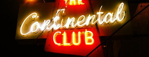 The Continental Club is one of Texas Trip.