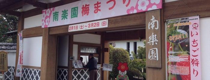南楽園 is one of 日本の都市公園100選.