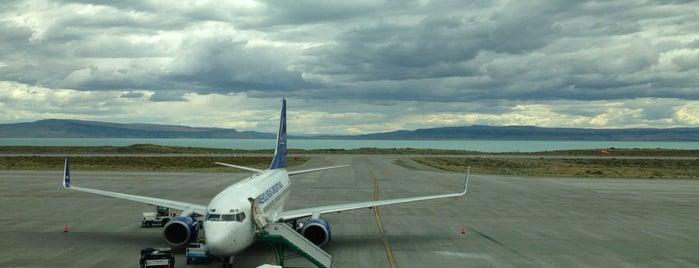 Aeropuerto Internacional de El Calafate - Comandante Armando Tola (FTE) is one of Patagonia (AR).