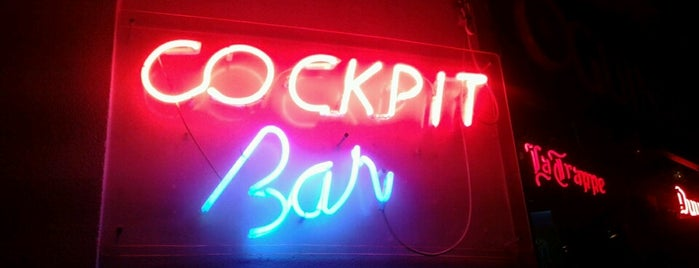 Cockpit Bar is one of abc in Lisbon.