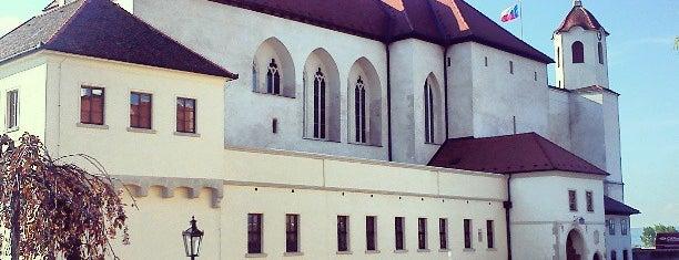 Hrad Špilberk is one of Brno.