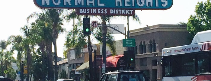 Normal Heights is one of Bikabout San Diego.