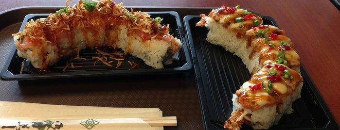 Ninja Sushi is one of Favorite Eats.