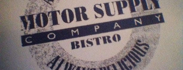 Motor Supply Co. Bistro is one of Columbia.