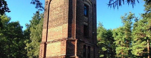 Башня в парке Лесотехнической Академии is one of Интересное в Питере.