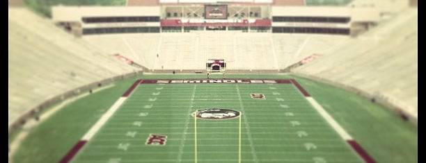 Doak Campbell Stadium is one of 10 Things To Do Before Graduating from FSU!.