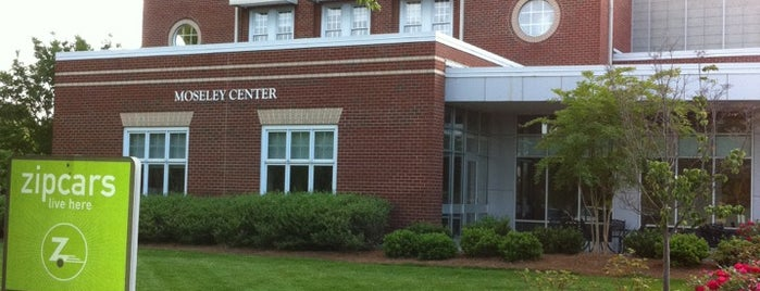 Moseley Center is one of Elon.