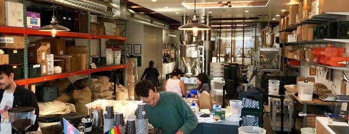 Andytown Roastery, Training Lab & Coffee Supply is one of San Francisco Caffeine Crawl.