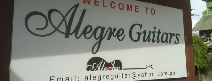 Alegre Guitar Factory is one of Certified Cebu.