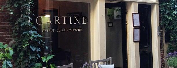 Gartine is one of MY AMSTERDAM // LUNCH // BRUNCH.