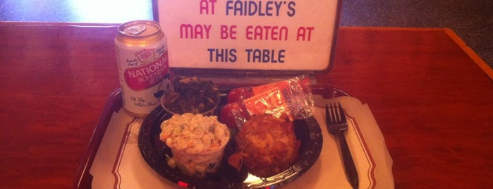 Faidley's Seafood & Fresh Fish Market is one of Baltimore's Best Seafood - 2012.
