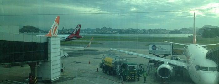 Aeroporto do Rio de Janeiro / Santos Dumont (SDU) is one of Melhores Shoppings..