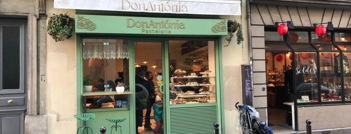 DonAntonia Pastelaria is one of Rest a descobrir.. Paris.