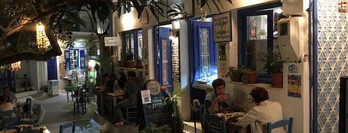 Το λιμάνι της Κυρα-Κατίνας is one of φαγητο.