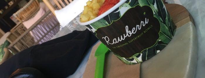 Rawberri is one of LA Health And Fitness Spots.