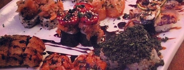 Hanbai Sushi Bar is one of Restaurantes Japoneses.