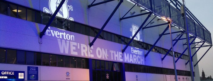 Goodison Park is one of My Stadium Tour.