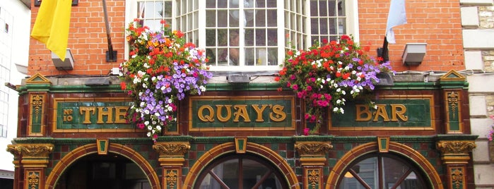 Quays Bar is one of Dublin.