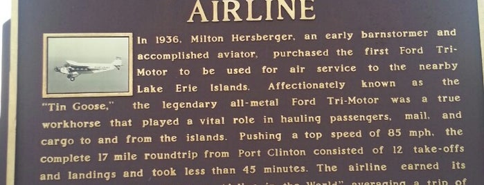 Erie-Ottawa International Airport at Carl R Keller Field (PCW) is one of Airports in Ohio.