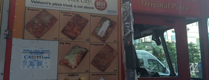 Valducci's Pizza Truck is one of All The Trucks.