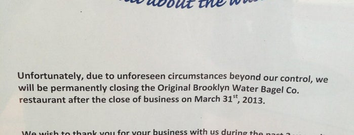 The Original Brooklyn Water Bagel Co is one of Miami City Guide.