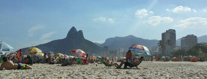 Ipanema Beach is one of Travel Guide to Rio de Janeiro.