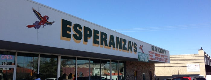 Esperanza's Restaurant & Bakery is one of The 15 Best Places for Burritos in Fort Worth.