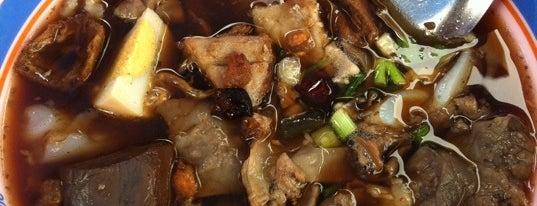 ก๋วยจั๊บน้ำข้น (อนุสาวรีย์ชัยฯ) is one of Enjoy eating ;).