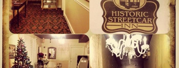 Historic Streetcar Inn is one of Interesting info, etc.