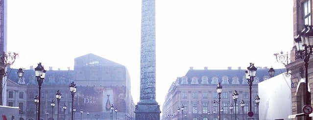Remarque'able Places. Paris.