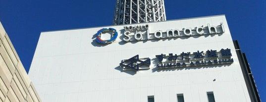 Sumida Aquarium is one of Tokyo.