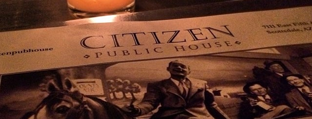 Citizen Public House is one of PHX Burgers in The Valley.