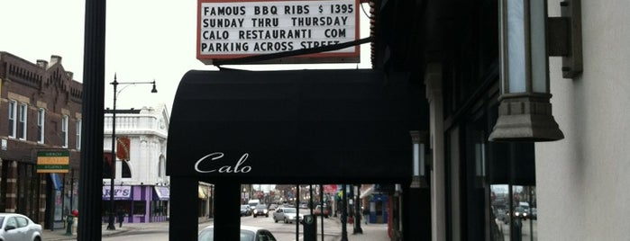 Calo Ristorante is one of My Andersonville Itinerary.