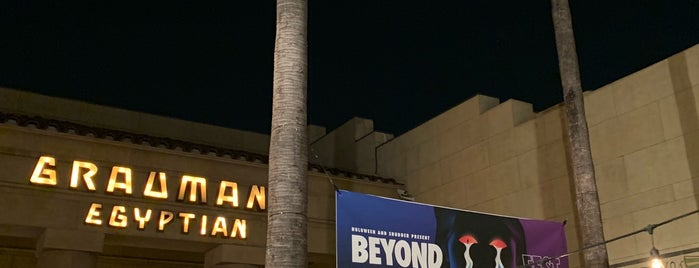 Grauman's Egyptian is one of Los Angeles Lifestyle Guide.