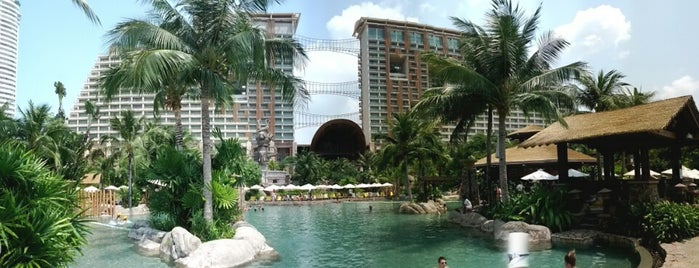 Centara Grand Mirage Beach Resort Pattaya is one of 50 Best Swimming Pools in the World.