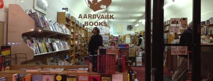 Aardvark Books is one of Best Of Winners 2012.