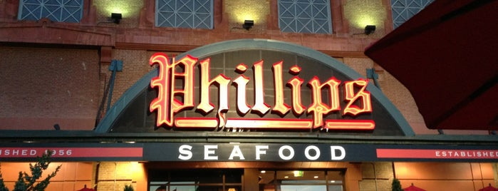 Phillips Seafood is one of Foodie.