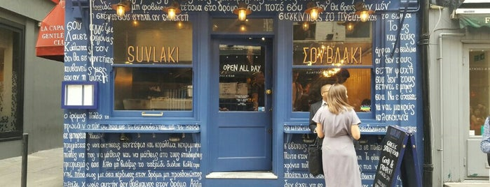 Suvlaki is one of London to try.
