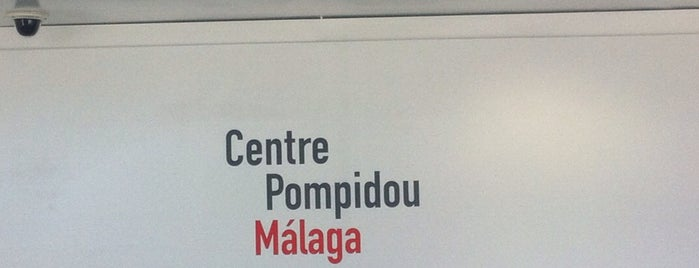 Centre Pompidou Málaga is one of Rincones de Málaga.