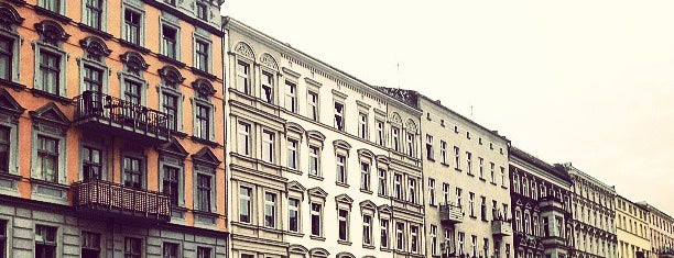 Friedrichshain is one of Berlin.