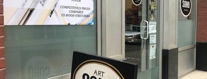 Soho Art Materials is one of NY.