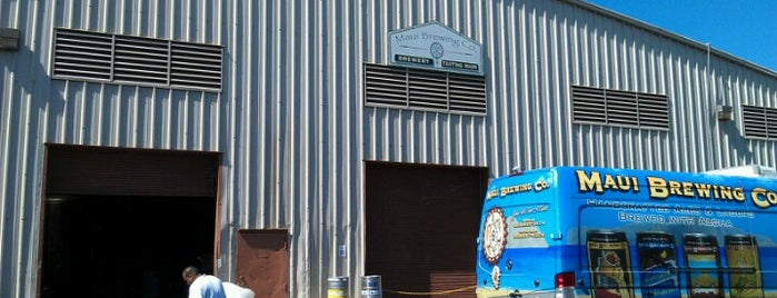 Maui Brewing Co. Brewery is one of Maui.