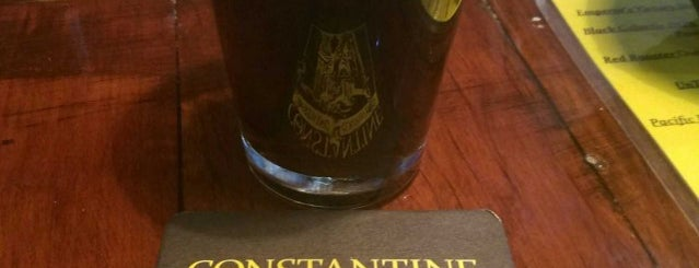 Constantine Brewing Company is one of Chicagoland Breweries.