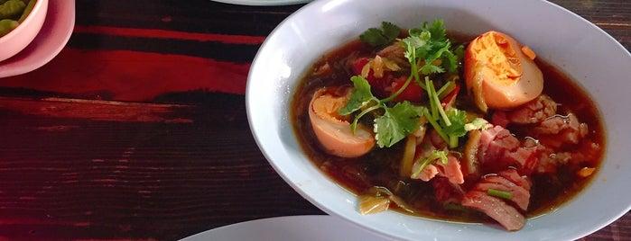 ข้าวขาหมู IMF คุณเจริญ is one of Favorite Food.