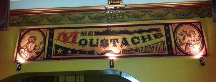 Madame Moustache is one of Br(ik Caféplan - part 1.