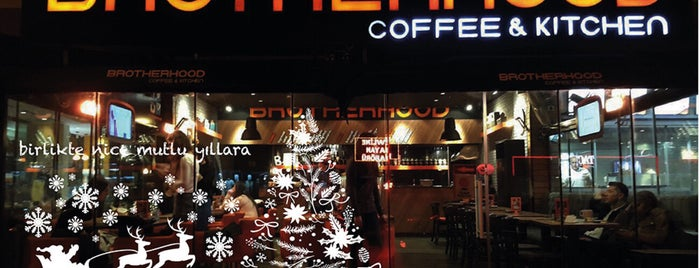 Brotherhood Coffee & Kitchen is one of istiyorumgidicem!!.